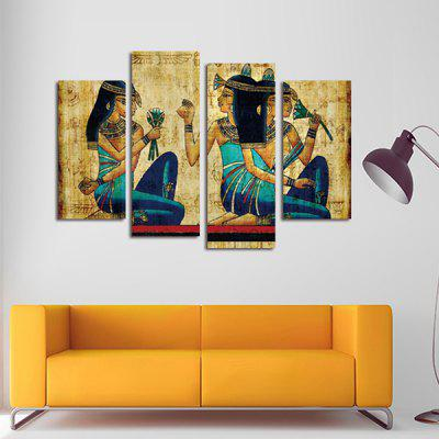 God Painting Modern Prints Girls Hanging Wall Art 4PCS