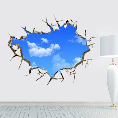 3D Sky Cloud Pattern Home Decor PVC Wall Sticker