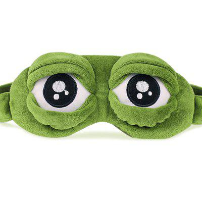 Creative Cartoon Spoof Sad Frog Eyes Sleeping BlinderSleeping Aids<br>Creative Cartoon Spoof Sad Frog Eyes Sleeping Blinder<br><br>Package Contents: 1 x Blinder<br>Package size (L x W x H): 25.00 x 15.00 x 25.00 cm / 9.84 x 5.91 x 9.84 inches<br>Package weight: 0.0800 kg<br>Product size (L x W x H): 20.00 x 10.00 x 20.00 cm / 7.87 x 3.94 x 7.87 inches<br>Product weight: 0.0400 kg