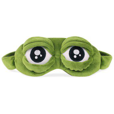 Creative Cartoon Spoof Sad Frog Eyes Sleeping Blinder