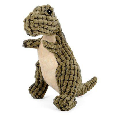 Pet Training Dinosaur Type Dog Chew Toy with Sound