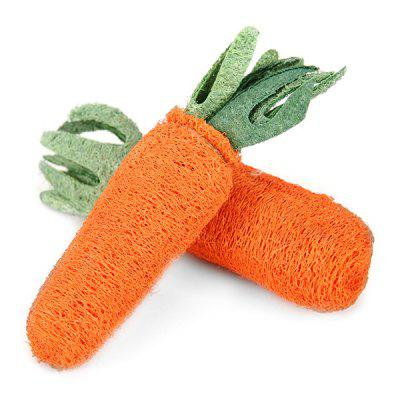 Pet Playing Funny Carrot Type Dog Chew Toy 1pc