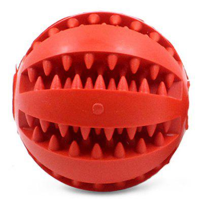 Pet Bite Training Funny Ball Shape Teeth Dog Chew Toy