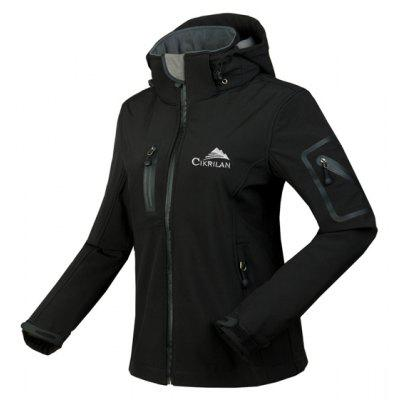 Outdoor Windproof Waterproof Female Hooded Jacket