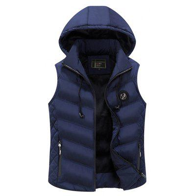 JOOBOX JOB - ZH1719 Cotton Detachable Cap Vests for Man