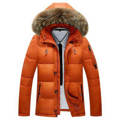 Stylish Padded Hooded Winter Jacket