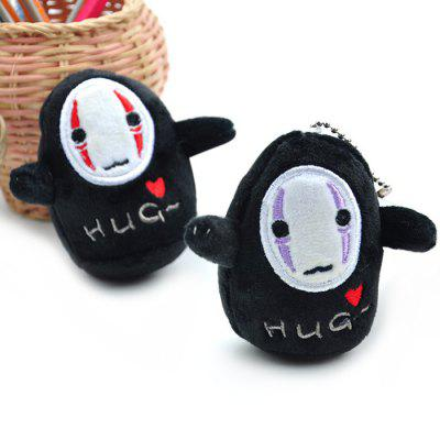 Cartoon No Face Male Figure Hang Decoration 1PCKey Chains<br>Cartoon No Face Male Figure Hang Decoration 1PC<br><br>Design Style: Fashion<br>Gender: Unisex<br>Materials: Plush<br>Package Contents: 1 x Hang Decoration<br>Package size: 10.00 x 6.00 x 10.00 cm / 3.94 x 2.36 x 3.94 inches<br>Package weight: 0.0400 kg<br>Product size: 8.00 x 4.00 x 8.00 cm / 3.15 x 1.57 x 3.15 inches<br>Product weight: 0.0300 kg<br>Stem From: Japan<br>Theme: Hang Decoration,Movie and TV