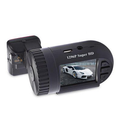 MINI 0805 1.5 inch 1296P HD LCD Screen GPS Car DVR Camcorder Image