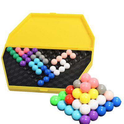Child Puzzle Toy Intellectual Magic Pearl Pyramid Style