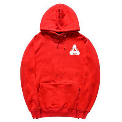 Buy RED S HZIJUE Printed Sweatshirt for Male for $23.49 in GearBest store