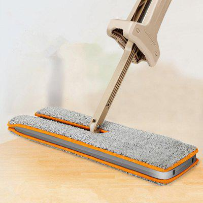 Hand Free Washable Rotation Double Sides Flat Mop