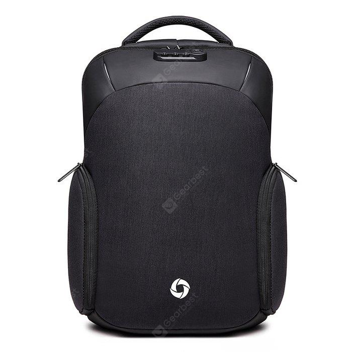 Men Anti-theft Water-resistant Backpack with USB Port
