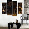 God Painting xyt - 1008 High Definition Prints Wall Art 4PCS - COLORMIX