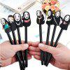 Cute 0.5mm Gel Pen Office Stationery 8PCS - BLACK