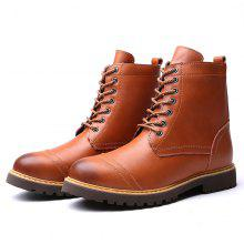 free shipping pay with visa discount clearance store Male Classic Brush-toe High-top Velvet Warmest Martin Boots sale release dates discount clearance z0cD4