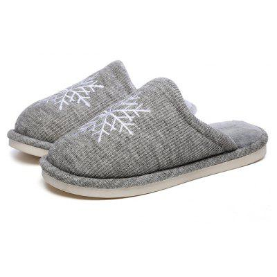 Male Soft Warmest Indoor Home Cozy Slippers