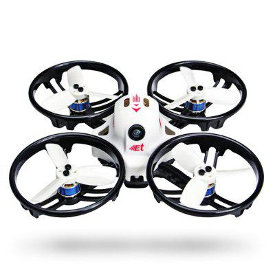 Buy WHITE KINGKONG ET125 125mm Micro FPV Racing Drone for $124.99 in GearBest store