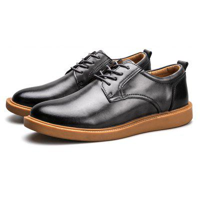 Male Quintessential Brush-off Business Soft Oxford Shoes