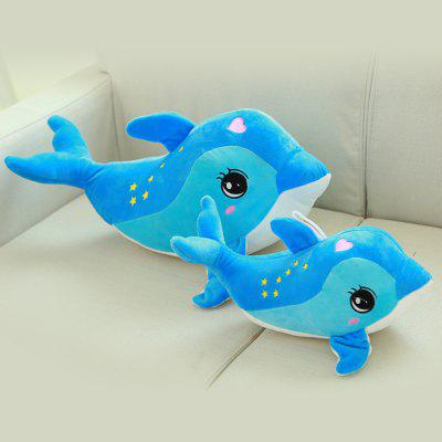 Plush Toy 1PC with Cartoon Dolphin Style