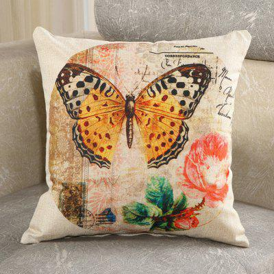 Buy LAIMA Vintage Linen Square Pillow Case Home Decor, COLORFUL, Home & Garden, Home Textile, Bedding, Pillow for $9.61 in GearBest store
