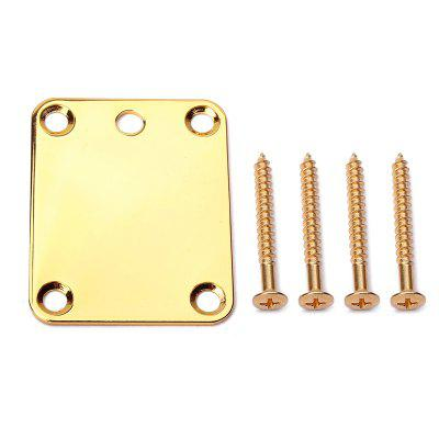 Buy Electric Guitar Parts Neck Joint Plate Board Set with Screws, GOLDEN, Toys & Hobbies, Musical Instruments, Guitar Parts for $4.44 in GearBest store