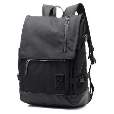 Men Stylish Large Capacity Water-resistant Laptop Backpack