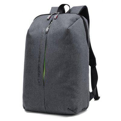 Simple Large Capacity Canvas Travel Backpack