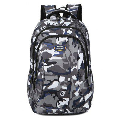 Outdoor Camouflage Water-resistant Large Capacity Backpack