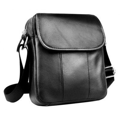 BULLCAPTAIN Leisure Genuine Leather Shoulder Bag