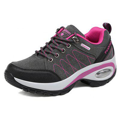 Female Versatile Soft Non-slip Heighten Cushion Sneakers
