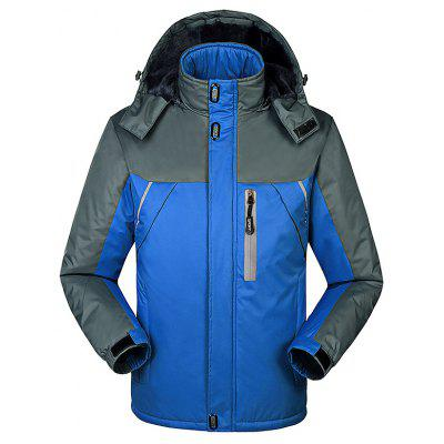 Outdoor Fashion Hooded Punch Jacket
