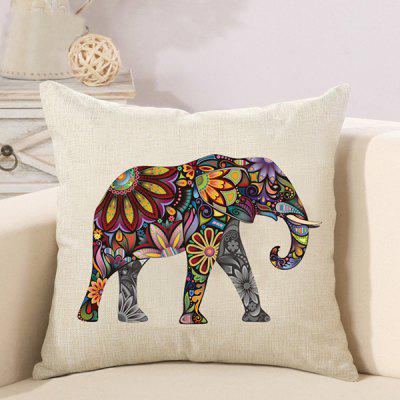 LAIMA Fashion Linen Throw Pillow Case