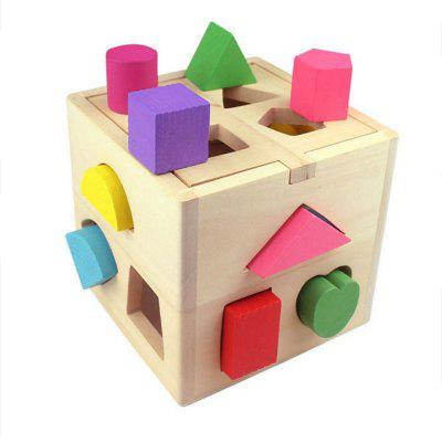 Geometric Building Blocks Intelligence Toy for Kids
