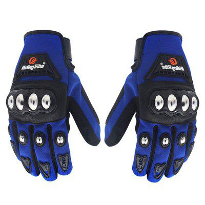 Riding Tribe MCS - 29B Touch Screen Full Fingered Glove 2PCS