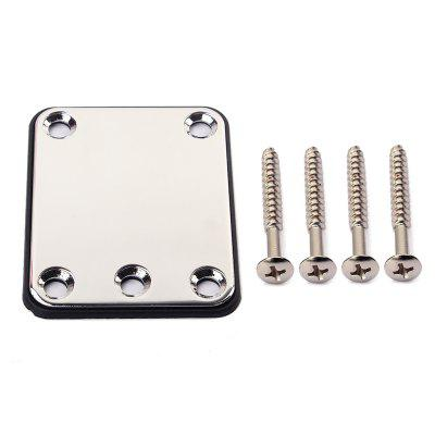 Electric Guitar Parts Neck Joint Board Plate Set with Screws