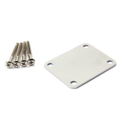 Electric Guitar Parts Neck Plate Board Set with Screw