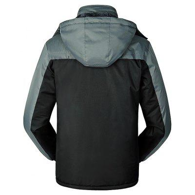 Outdoor Fashion Hooded Punch JacketMens Jackets &amp; Coats<br>Outdoor Fashion Hooded Punch Jacket<br><br>Activity: Outdoor Lifestyle<br>Features: Waterproof, Windproof, Wear Resistant, Breathable, Keep Warm<br>Gender: Unisex<br>Material: Polyester Fiber<br>Package Content: 1 x Punch Jacket<br>Package size: 40.00 x 35.00 x 4.00 cm / 15.75 x 13.78 x 1.57 inches<br>Package weight: 1.5200 kg<br>Product weight: 1.5000 kg<br>Season: Winter, Autumn