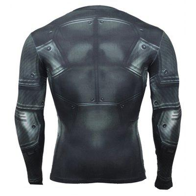 Long Sleeves Quick Dry 3D Pattern Printed T-shirt for Menweight lifting clothes<br>Long Sleeves Quick Dry 3D Pattern Printed T-shirt for Men<br><br>Features: Breathable, High elasticity, Quick Dry<br>Gender: Men<br>Material: Polyester, Spandex<br>Package Content: 1 x T-shirt<br>Package size: 35.00 x 30.00 x 2.00 cm / 13.78 x 11.81 x 0.79 inches<br>Package weight: 0.2000 kg<br>Product weight: 0.1800 kg<br>Types: Long Sleeves