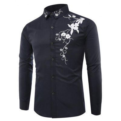 Chemise Slim Homme Manches Longues