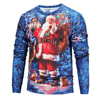Mr 1991 INC Miss Go Printing Christmas Sweatshirt