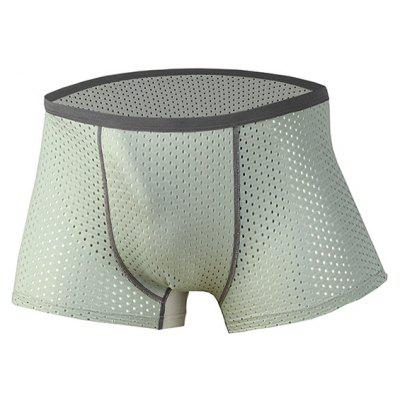 Fashion Breathable Solid Color Boxers
