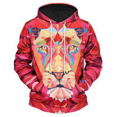 Mr 1991 INC Miss Go Lion 3D Printing Christmas Hoodie