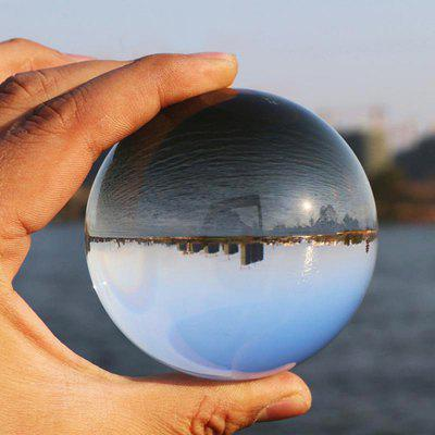 Creative Spherical Photography Lens Crystal Sphere Glass Ball