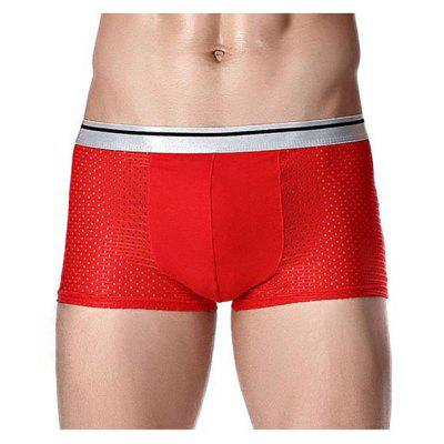 HYD1461 Ice Silk Mesh Male Functional Boxers