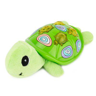 Cartoon Tortoise Style Plush Toy with Music