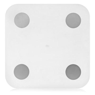 Xiaomi Bluetooth 4.0 Smart Weight ScaleBody Scale<br>Xiaomi Bluetooth 4.0 Smart Weight Scale<br><br>Battery Included or Not: No<br>Body Material: ABS<br>Color: White<br>Compatible with: IOS, Android<br>Feature: High-precision<br>Function: Muscle Mass, Basal Metabolic Rate, BMI, Body Fat Percentage, Bone Mass, Weight, Visceral Fat, Protein, Portable<br>Glass Material: Tempered Glass<br>Package Contents: 1 x Body Fat Scale<br>Package Dimension: 45.00 x 55.00 x 6.10 cm / 17.72 x 21.65 x 2.4 inches<br>Package Weights: 2.191kg<br>Power Supply: 4 x AAA battery ( not included )<br>Product Dimension: 30.00 x 30.00 x 1.50 cm / 11.81 x 11.81 x 0.59 inches<br>Screen size: 30 x 30cm<br>Weight Range: 5 - 150kg