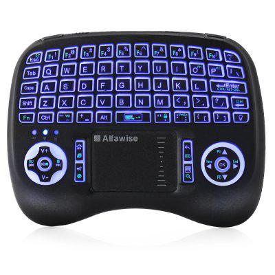 Alfawise KP - 810 - 21T - RGB Mini 2.4G Wireless Keyboard