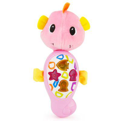 Sea Horse Plush Toy with Music for Baby Sleeping