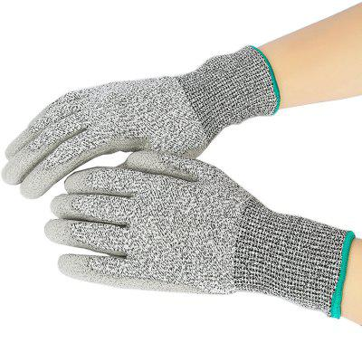 Pair of Nitrile Non-slip Puncture-resistance Safety Work Gloves