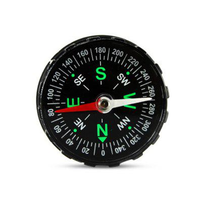 Buy BLACK Outdoor Portable Acrylic Compass for $1.13 in GearBest store